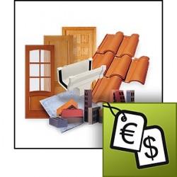 Generador de precios de rehabilitación (Organismos e instituciones)