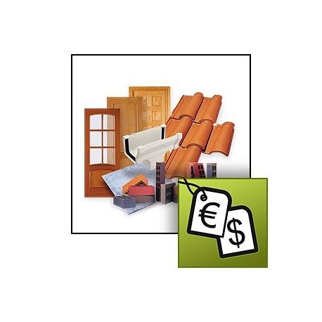 Generador de precios de la construcción.