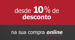 10% desconto online